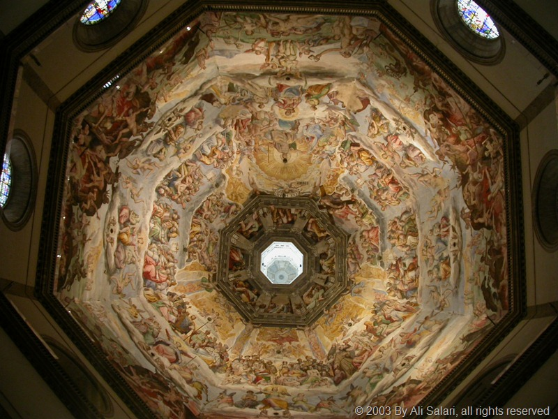 Picture of the Cieling of Basilica Di Santa maria del Fiore